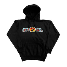 "Load image into Gallery viewer, When The Smoke Clears ""Black"" Hoodie Front and Back"