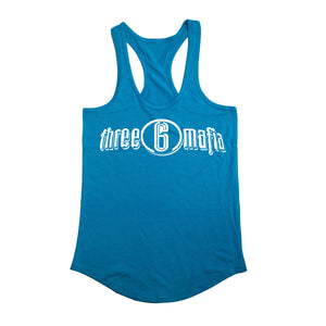 "Three 6 Mafia ""Racerback"" Teal"