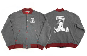 "Hypnotize Minds ""Letterman"" Grey/Burgundy"