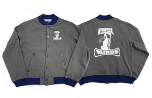 "Hypnotize Minds ""Letterman"" Grey/Navy"