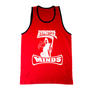 "Hypnotize Minds ""Tank Top"" Red/Blue Trim"