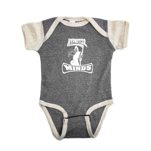 "Hypnotize Minds ""Premium Onesie"" Heather Grey/Sand"