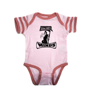 "Hypnotize Minds ""Premium Onesie"" Pink Striped"