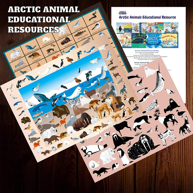 Arctic Animal  Jumbo Floor Puzzle