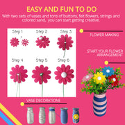 Flower and Sand Art Kit