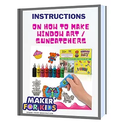 Instruction On How To Make Window Art Suneatehers