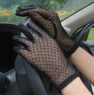 Washable Summer Lace Gloves - Lovemywigs
