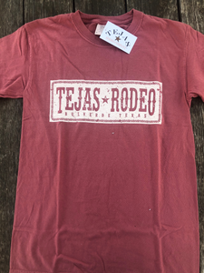 Tejas Rodeo Vintage Sign