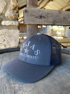 Tejas Hat - Charcoal/Navy