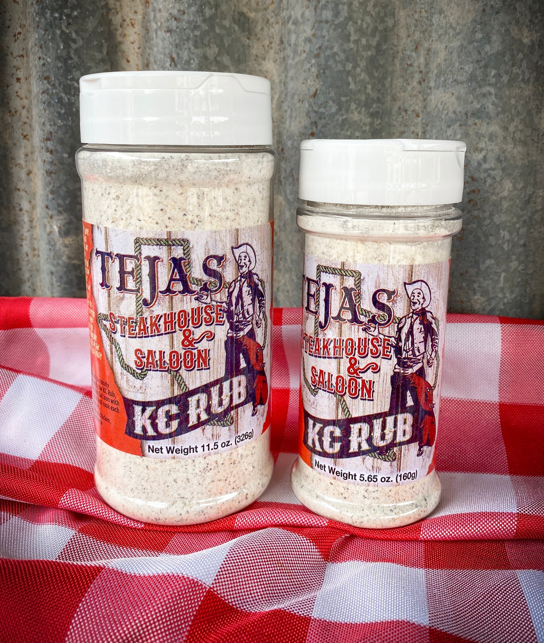Tejas Steakhouse KC Rub