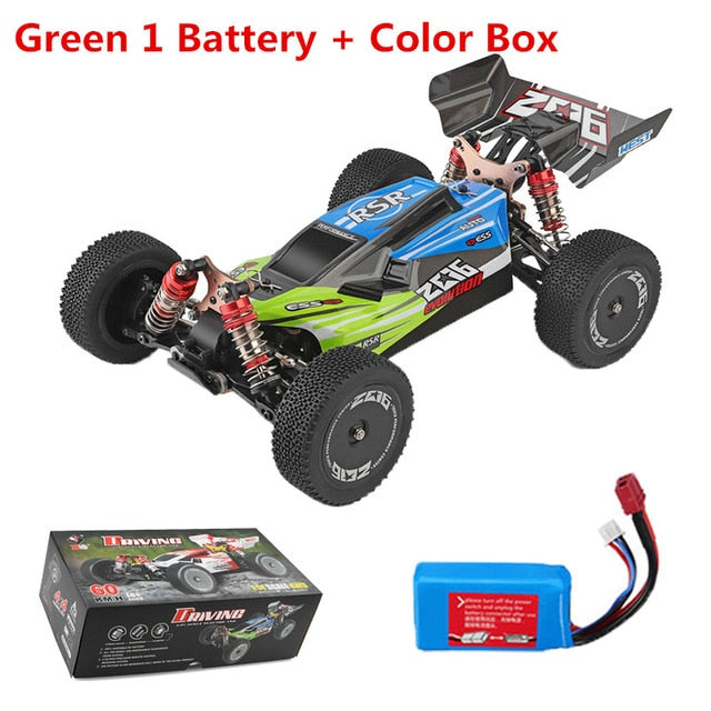 Wltoys 1:14 144001 2.4G 4WD 60km/h Drifting RC Car Remote Control Car RC Vehicle High Speed Crawler Model Toys