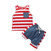 4th-of-July Stars Stripes SleevelessOutfits