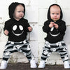Baby Boys Halloween Cartoon Skull Hoodie