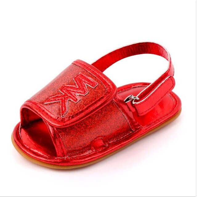 Newborn Girls Rubber Sole Sandals