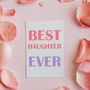 E-GIFT CARD-BEST DAUGHTER
