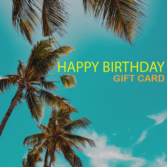 E-GIFT CARD-HAPPY BIRTHDAY