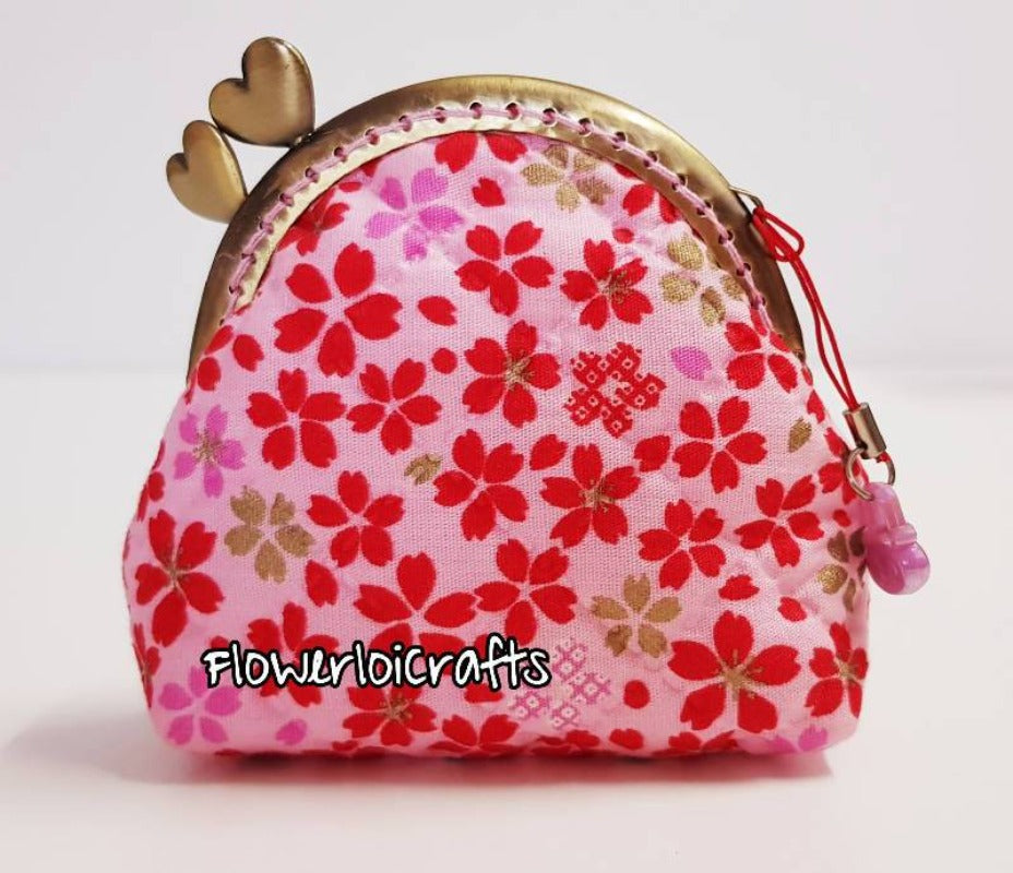 Sakura Coin Purse (Framed Purse)
