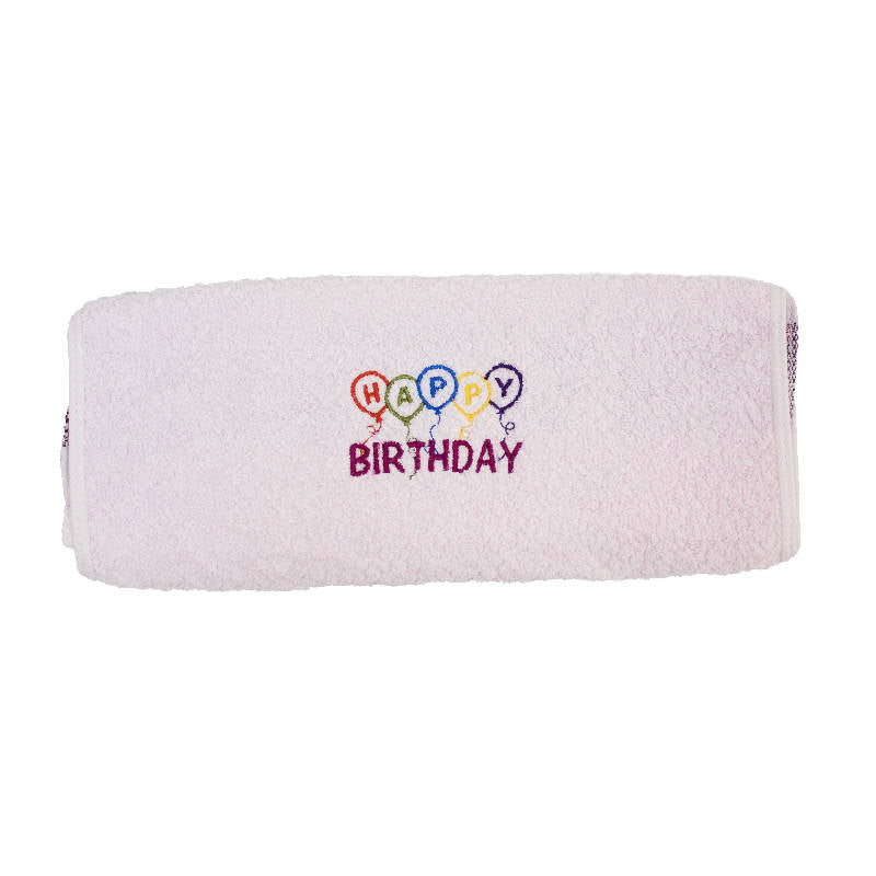 Personalised Embroidered Face Towel (30 days lead time)