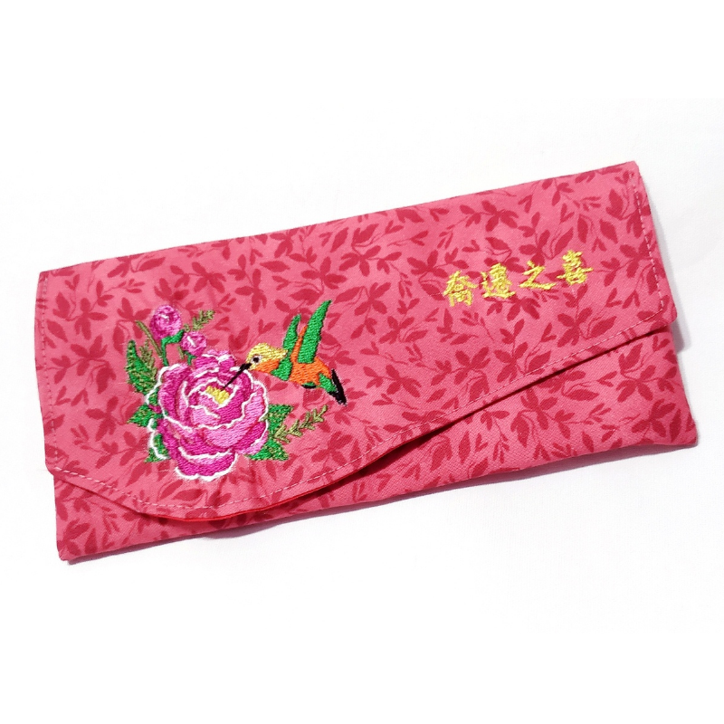 2-tier Clutch Pouch (Elegant New Home Blessing 喬遷之喜 )