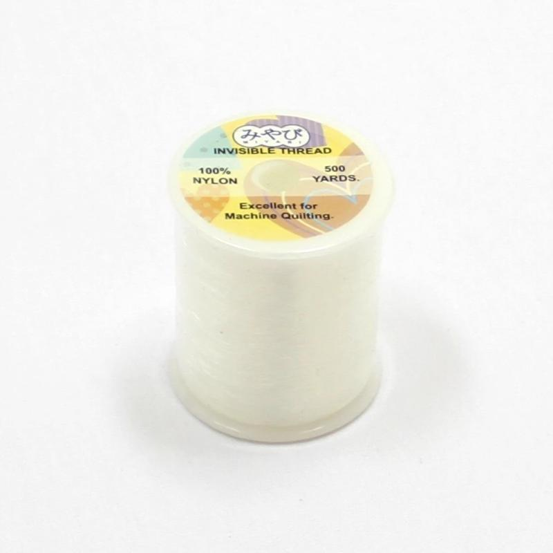 100% Nylon Invisible Thread - 500 Yards