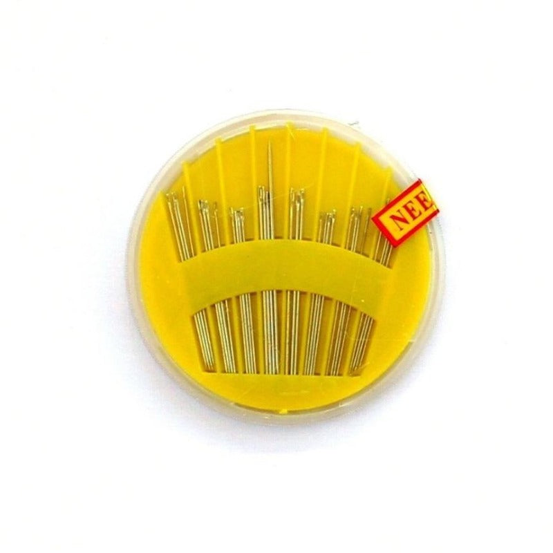 Hand Sewing Needles in Compact