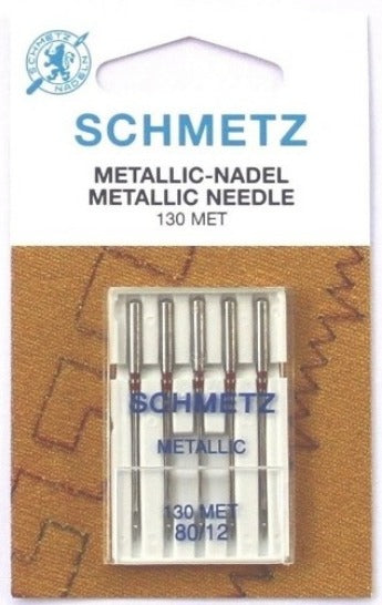 SCHMETZ Metallic Needle Size : 12, 14