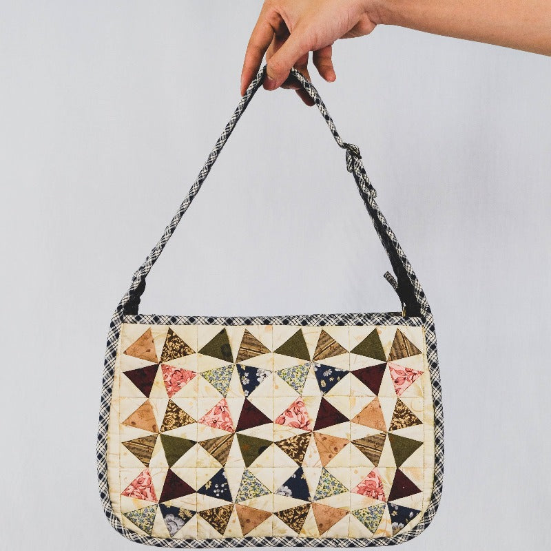 Yarn Dyed Patchwork Bag
