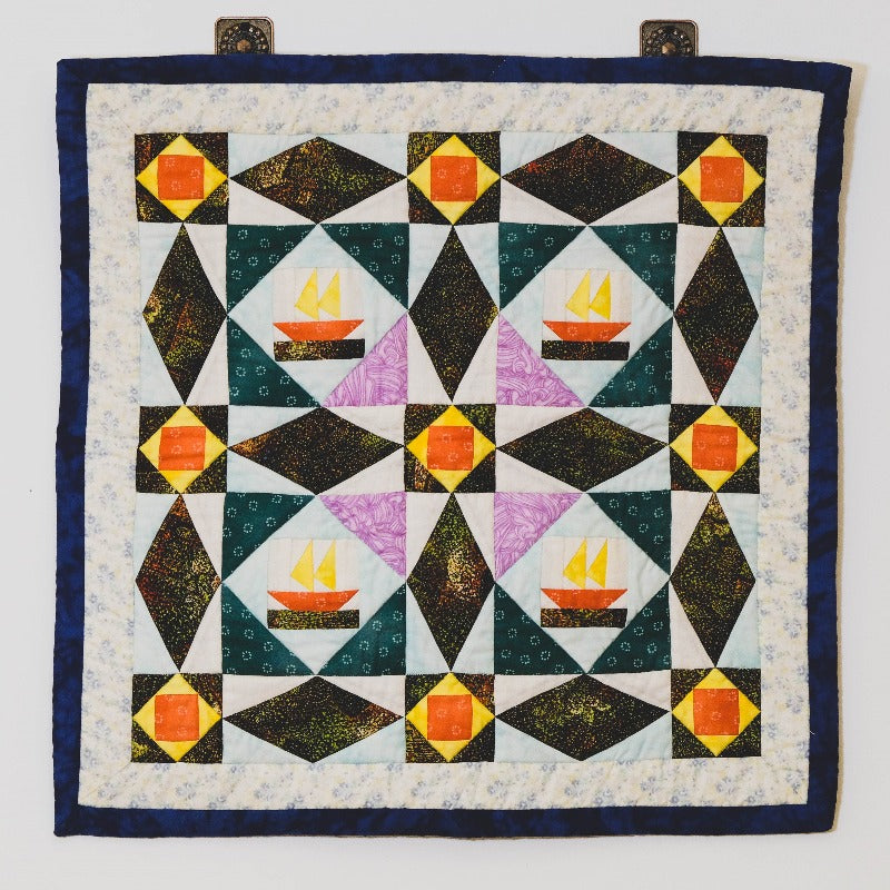 Textile Patchwork Wall Hanging