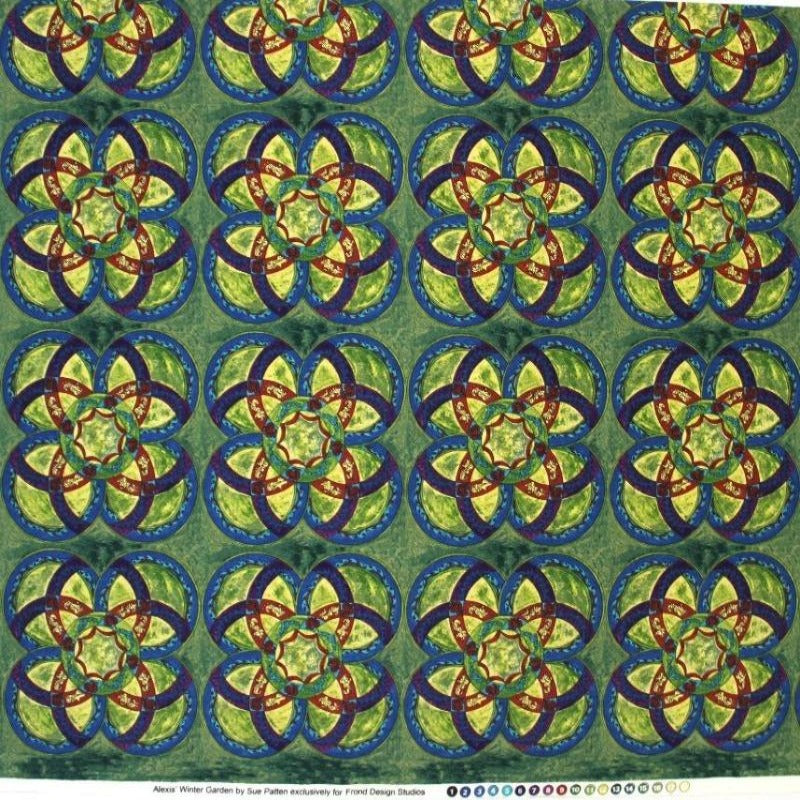Flower Fabric / Kain Bunga -Alexis Winter garden