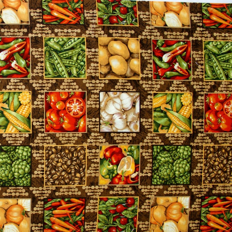 Panel Fabric - Farmer John Mini - 1 Panel