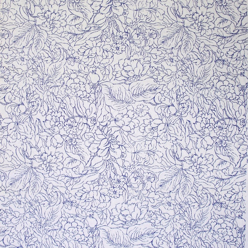 Flower Fabric / Kain Bunga-Jinny Beyer Monochrome