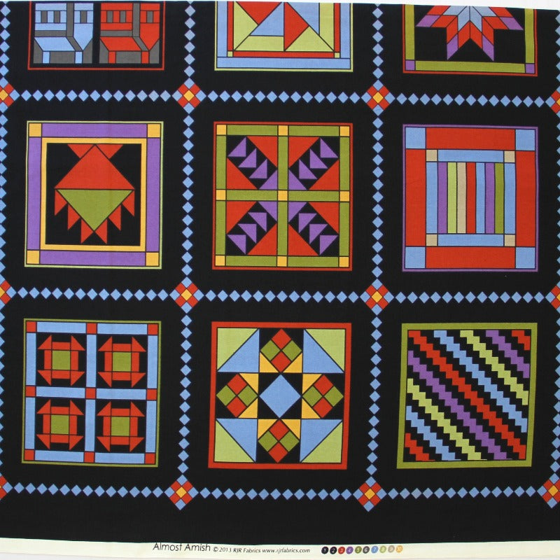 "Panel Fabric -Almost Amish- (23.5"")"