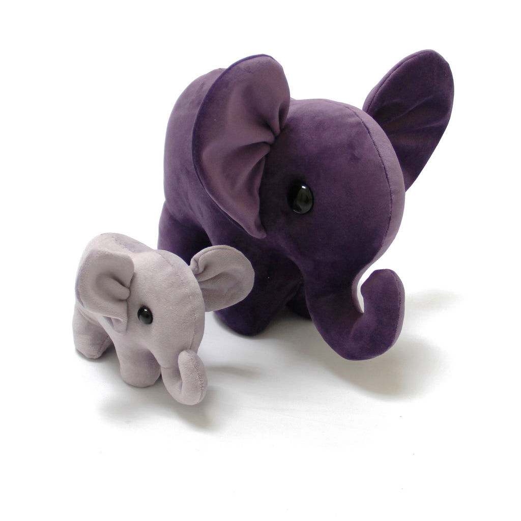 Soft Toy Elephant Material Pack