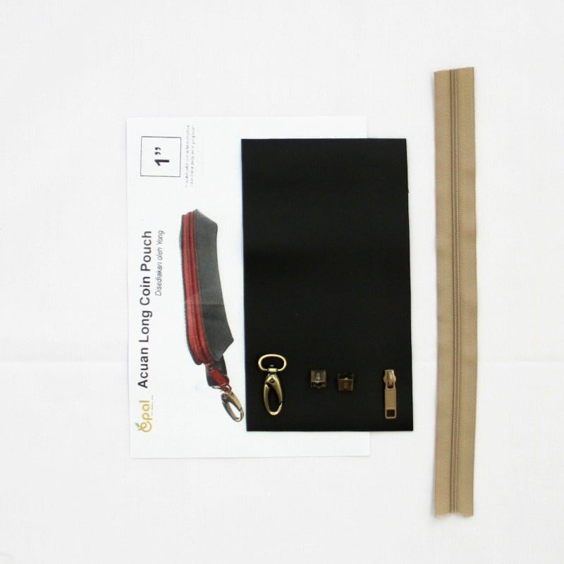 Long Coin Pouch Material Pack