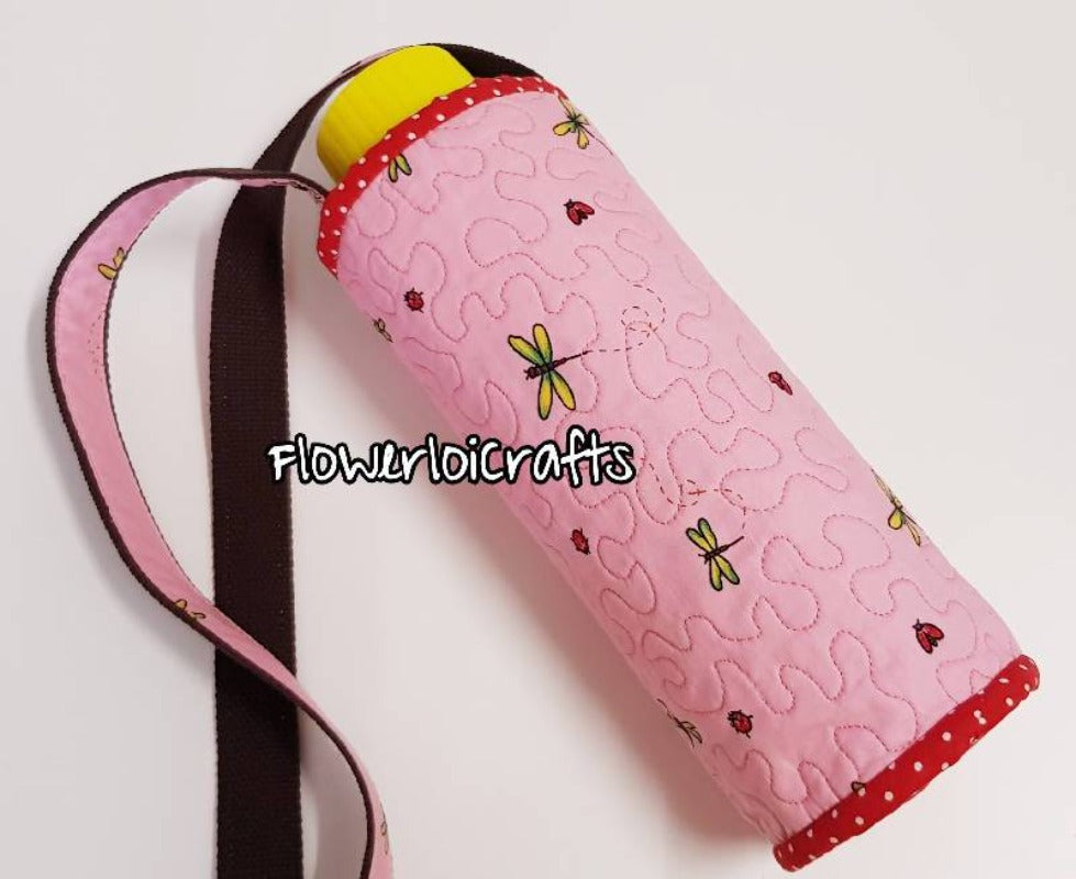 Quilted Water Bottle Cover/Holder
