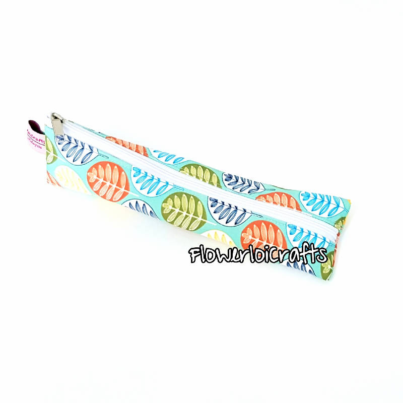 Colourful Leaves Cutlery Pouch