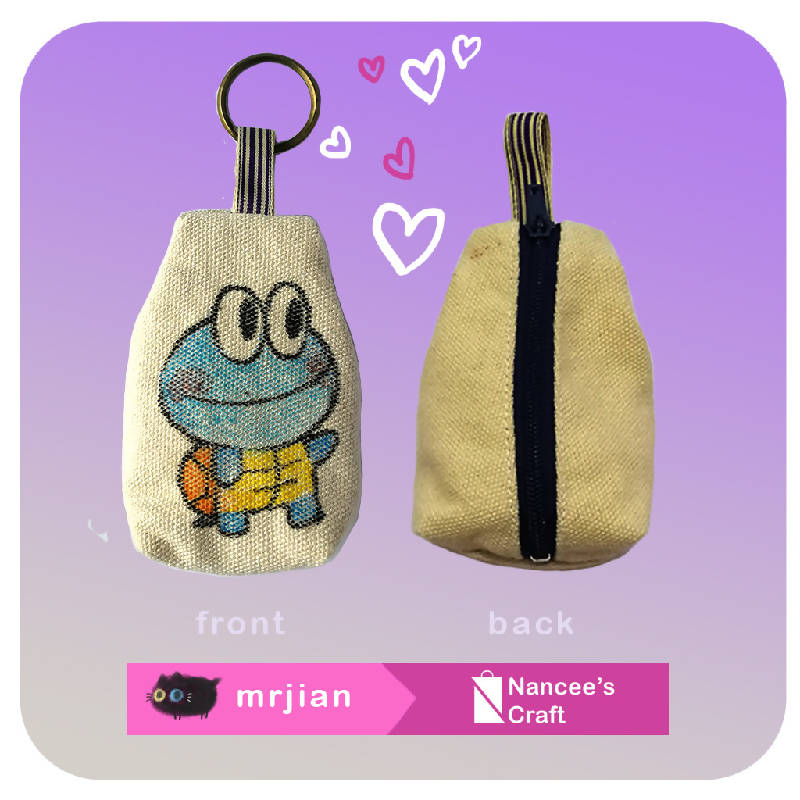 COIN POUCH KEY HOLDER
