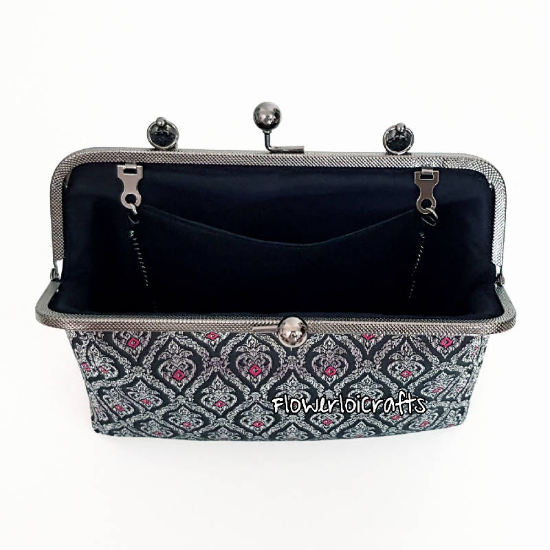 Elegant Songket Framed Bag (FREE shipping within Malaysia from 27 Jan-28 Feb 2021 only!)