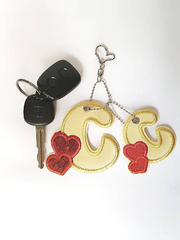 Personalised Keychain - Letter Keychain
