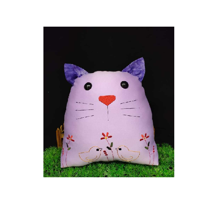 Cat Plush Pillow Material Pack