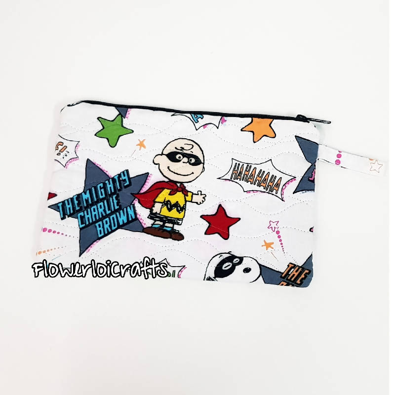 Special Quilted Pencil Case (Snoopy)