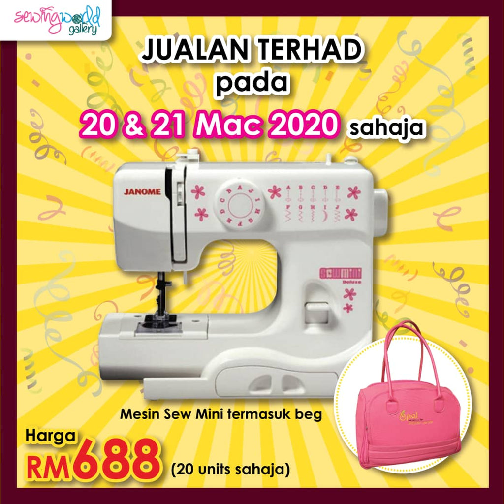SEWING MACHINE JANOME-SEW MINI 525B