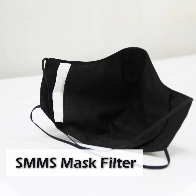 SMMS Filter Waterproof Breathable Face Mask (Adult) (1 pcs mask & 5 filters) (30 - 45 days lead time)