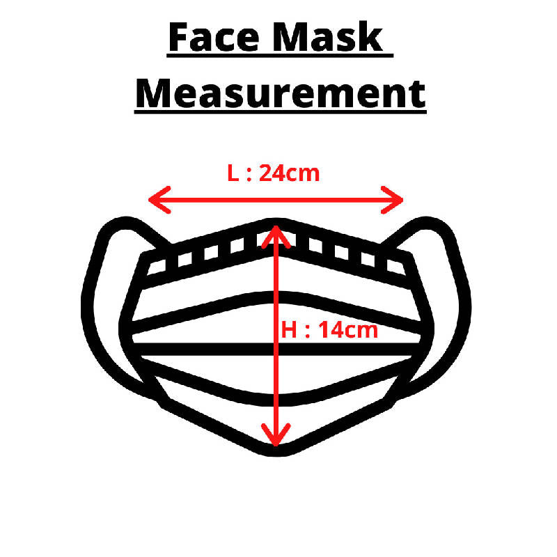 Premium Cotton Fabric 3-Ply Face Mask