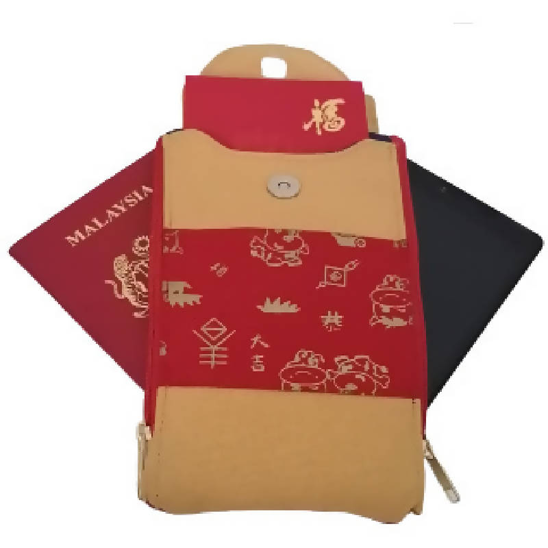 Wristlet/Handphone pouch(CNY- Limited Edition)