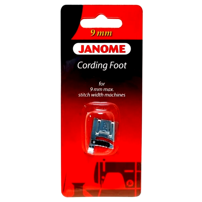 Janome 9 mm Cording Foot