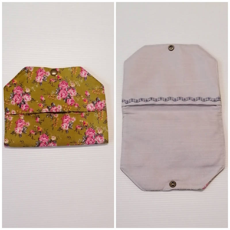 Fabric Mask Keeper Pouch