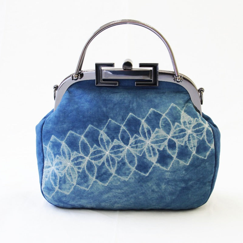 Indigo Clutch Bag
