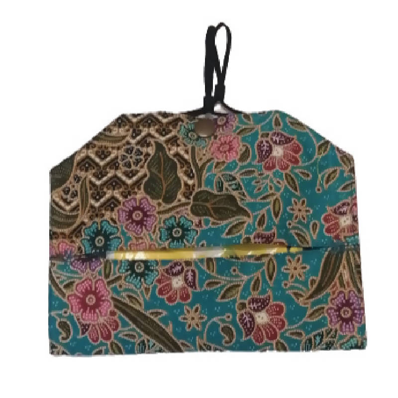 Fabric Mask Keeper Pouch (Batik collection)