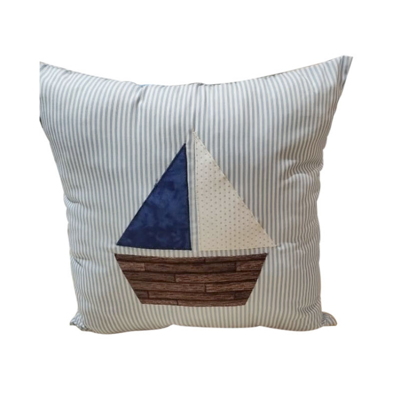 Pillow Ship Applique Material Pack